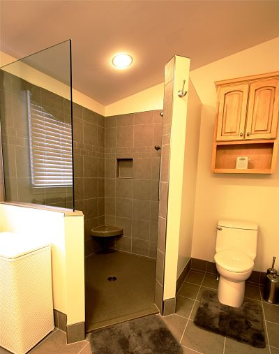 Bathroom Designs No Tiles six facts to know about walk-in showers without doors