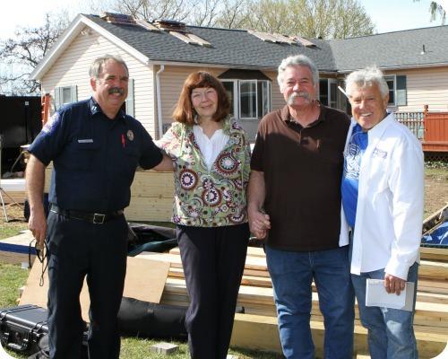 Scott McClurg, Bob Whitehead, Dave and Diana Johnson