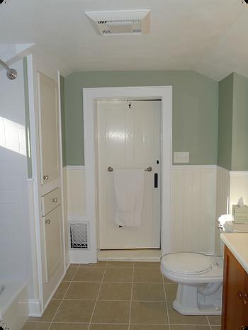 Bathroom Ventilation and Fan Lighting