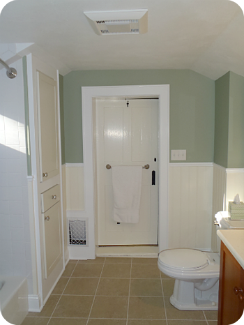 Bathroom Ventilation and Fan Lighting