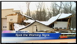 Roof Collapes on WSTM NBC-3