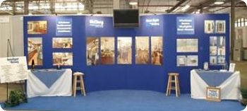 McClurg Booth at CNY Home Show