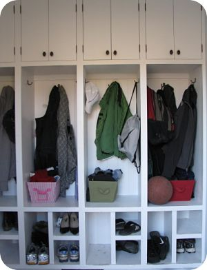 Mudroom Lockers And Cubbies By McClurg