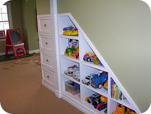 Basement Built-in Storage