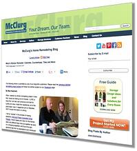 subscribe to the McClurg remodeling design ideas blog