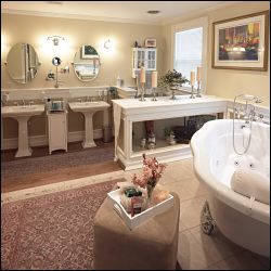 Luxury Master Bathroom Retreat opt