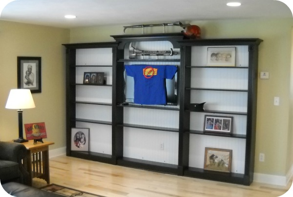 McClurg built book shelf unit