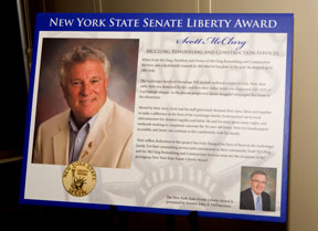 NYS Senate Liberty Award