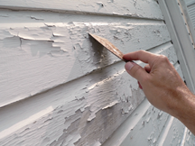 Peeling Lead Paint
