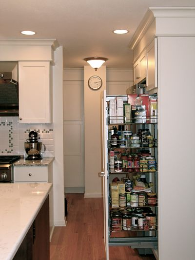 Pull-out Pantry Storage
