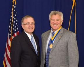 Scott McClurg and Senator DeFrancisco