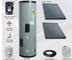 Solar tank system