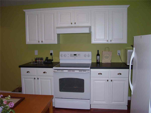 With two cooks in the home, a small kitchen was included in this basement finish so both cooks could prepare different meals at the same time.