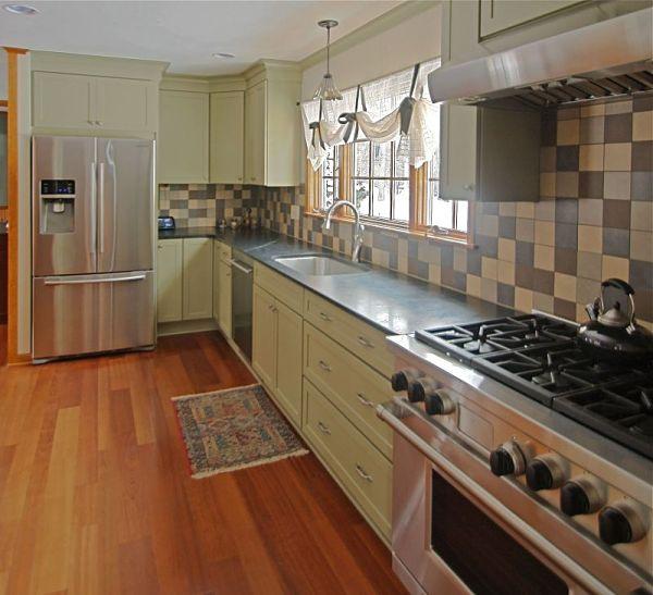 Galley Kitchen Remodel Remove Wall 6 great kitchen floor plan design ideas