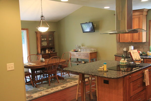 Awesome Dining Room And Kitchen Remodel Design