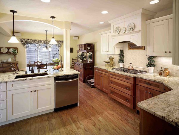 design ideas for kitchens with an open floor plan - Kitchen And Dining Room Open Floor Plan