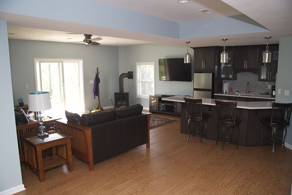 kitchen design ideas for basements and lower level living areas