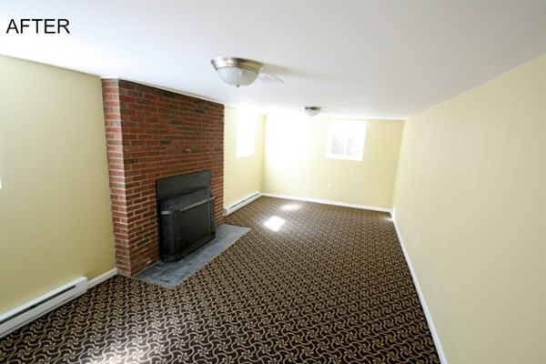 AFTER - Basement Insurance Restoration