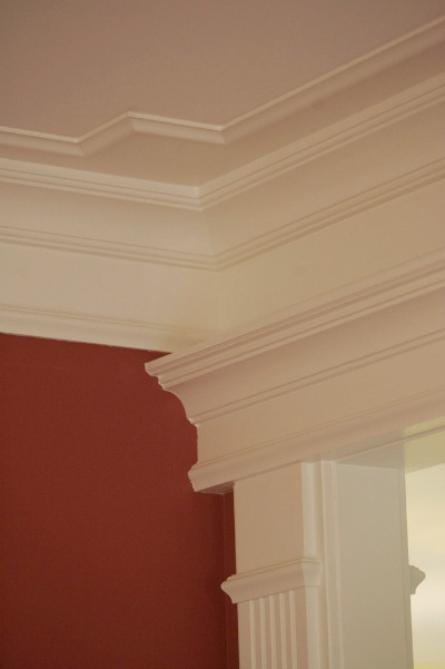 Interior Crown Molding Detail