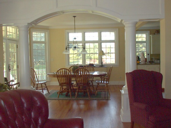 Interior Arch with Columns