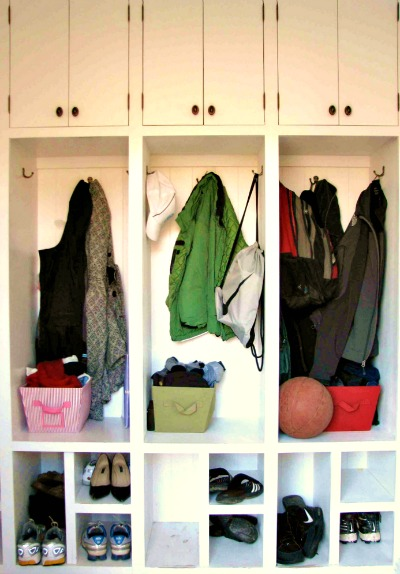 Entryway Mudroom Cubbies
