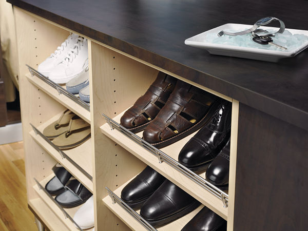 Custom Closet Shoe Rack
