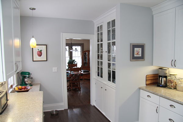 kitchen with refurbished pantry cabinet remodeling  what to salvage repurpose and donate  rh   mcclurgteam com
