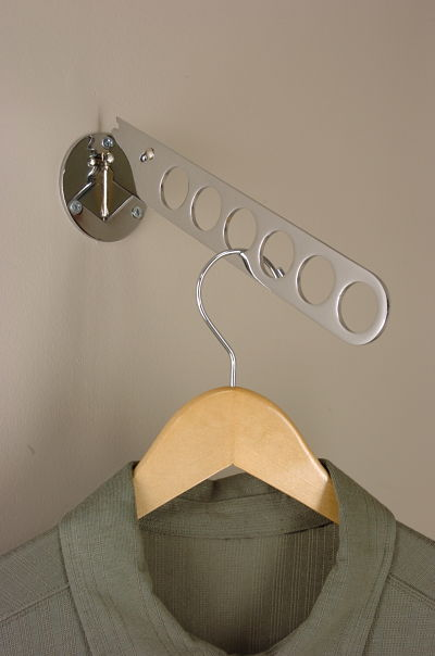 Closet Door Mounted Hanger Holder