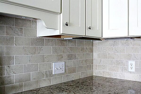 subway kitchen backsplash tile