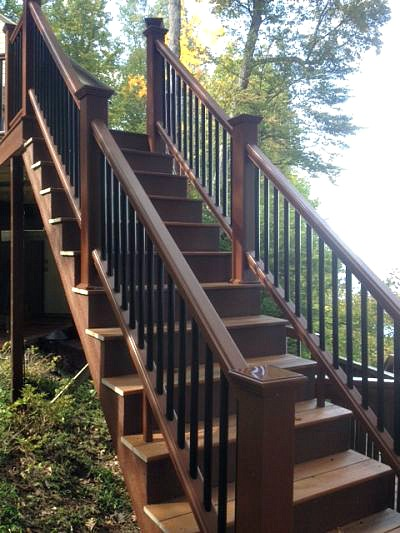 composite stairs and railings
