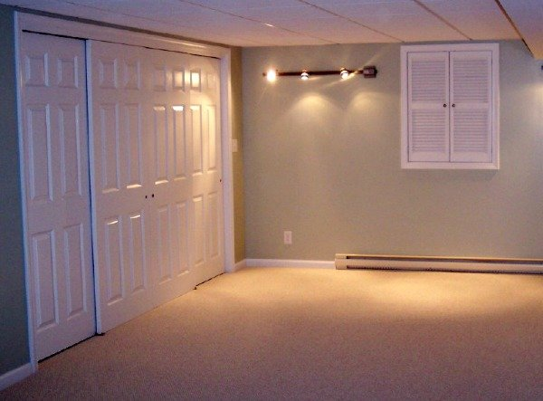 basement closets and concealed mechanicals