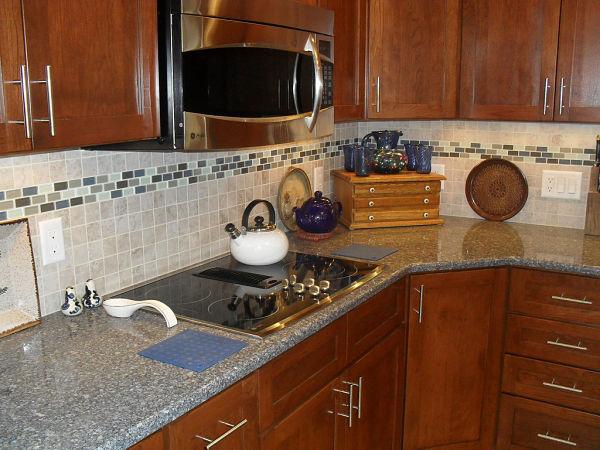 Kitchen Backsplash Border wonderful kitchen backsplash border marble tiles with three rows