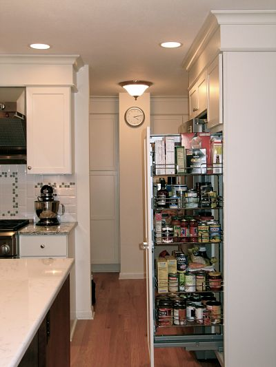 Pullout Food Pantry