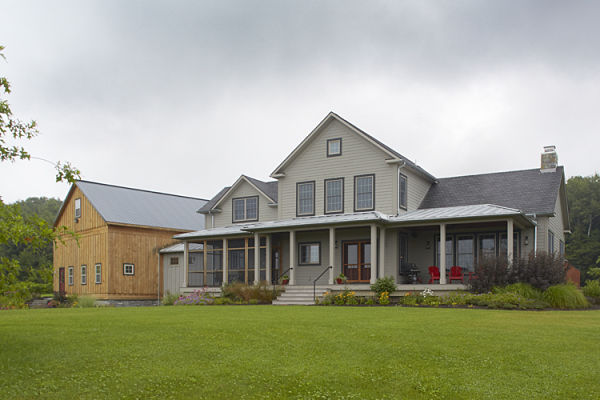 Project of the month new farmhouse style home for American farmhouse style