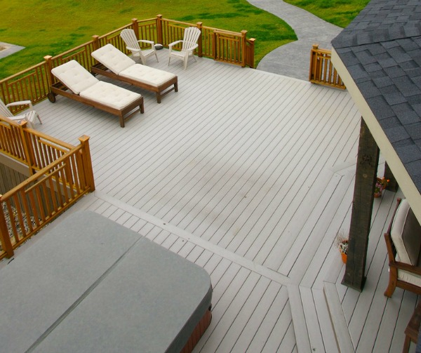 composite decking and railing system