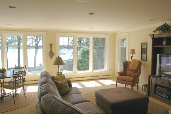 Family Room Addition With Lake View