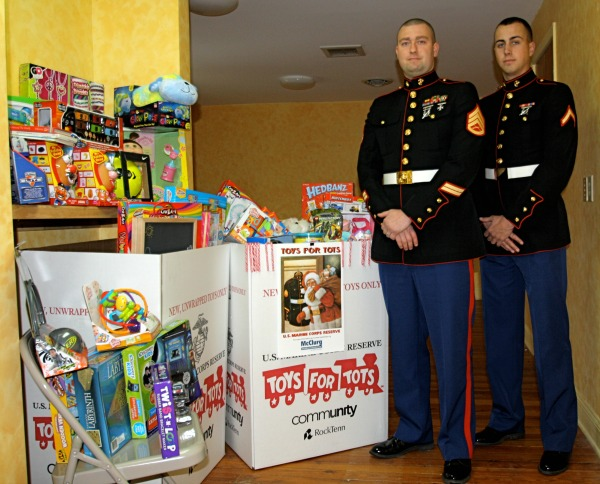 2013 Toys for Tots collected at McClurg