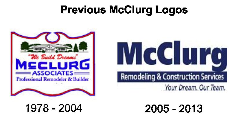 Previous McClurg Logos
