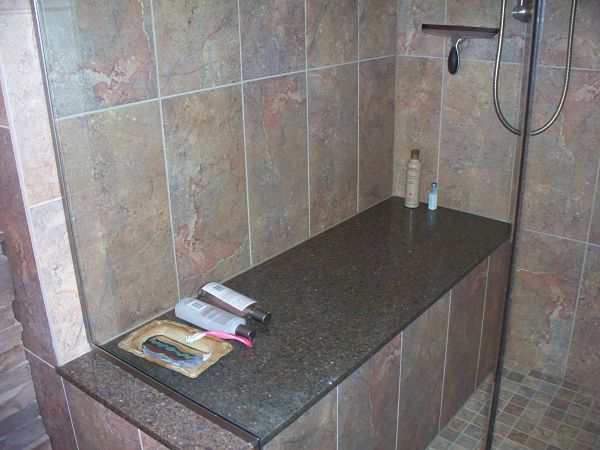 walk-in shower bench seat