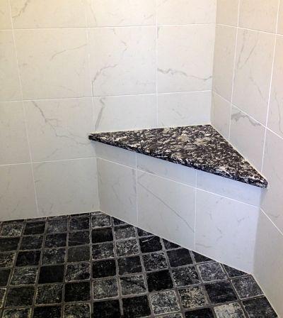 Quartz Shower Seat