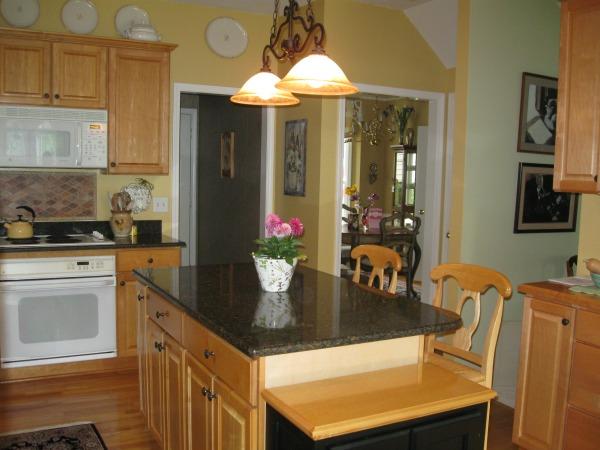 kitchen makeover with quartz countertops