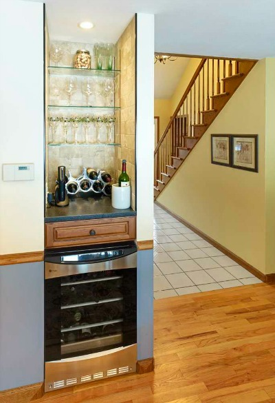 kitchen beverage center