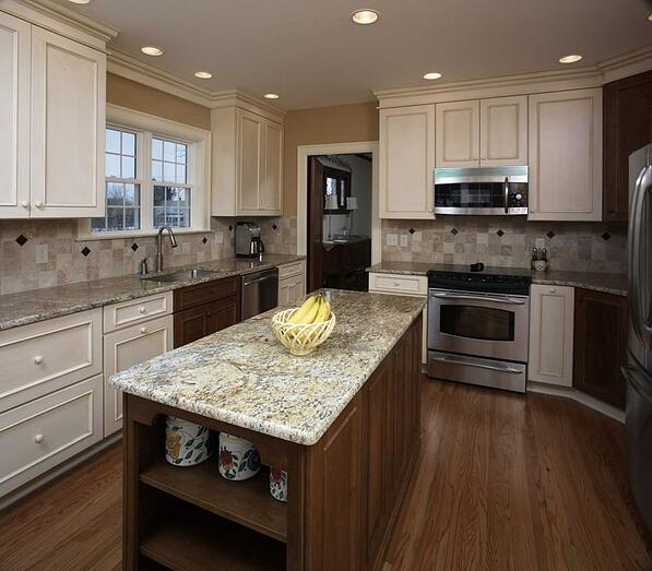 Kitchen Countertops Kinds: 6 Design Ideas For Kitchen Cabinets And Cabinet Hardware