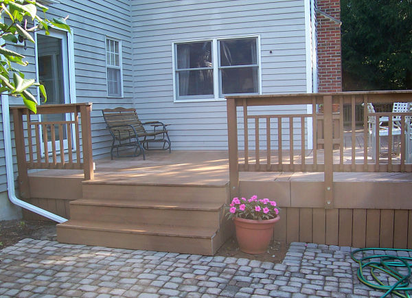 Integrated Deck and Patio