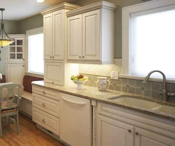 bone white undermount composite sink - White Kitchen Sink