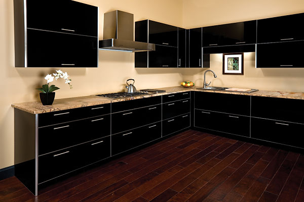 black parapan kitchen cabinets the latest trends in kitchen and bathroom cabinet finishes  rh   mcclurgteam com