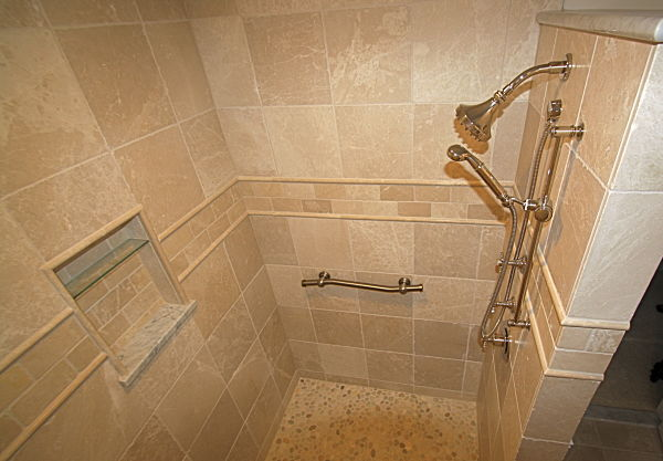 Walk In Shower Designs Without Doors use similar but slightly different materials for the shower Walk In Shower Without Doors