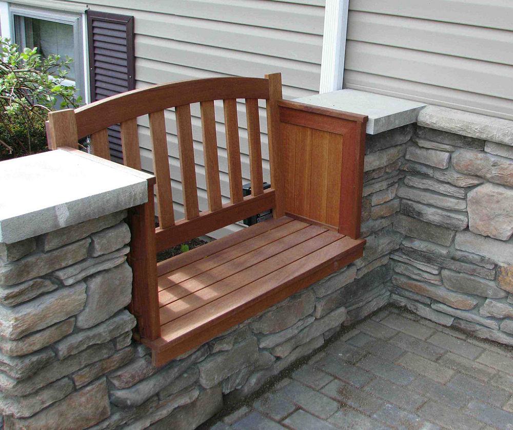 Mahogany-Bench