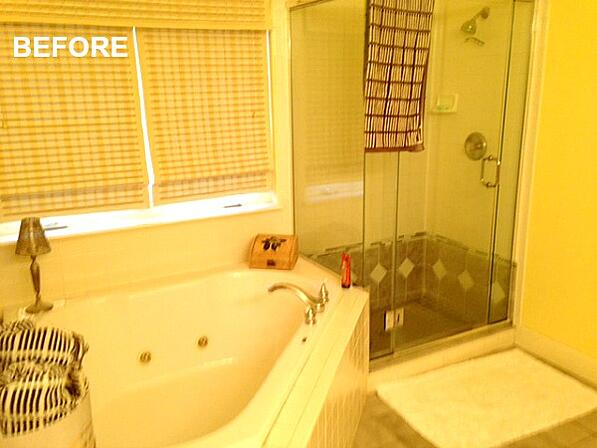 BEFORE: Whirlpool Tub and Shower