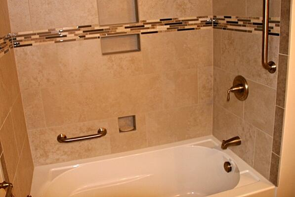 bathroom remodel with universal design features